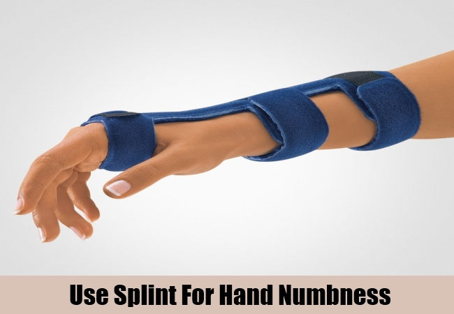 Use Splint For Hand Numbness