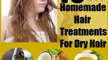 Homemade Hair Treatments For Dry Hair