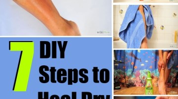 Steps to Heal Dry Skin on Legs
