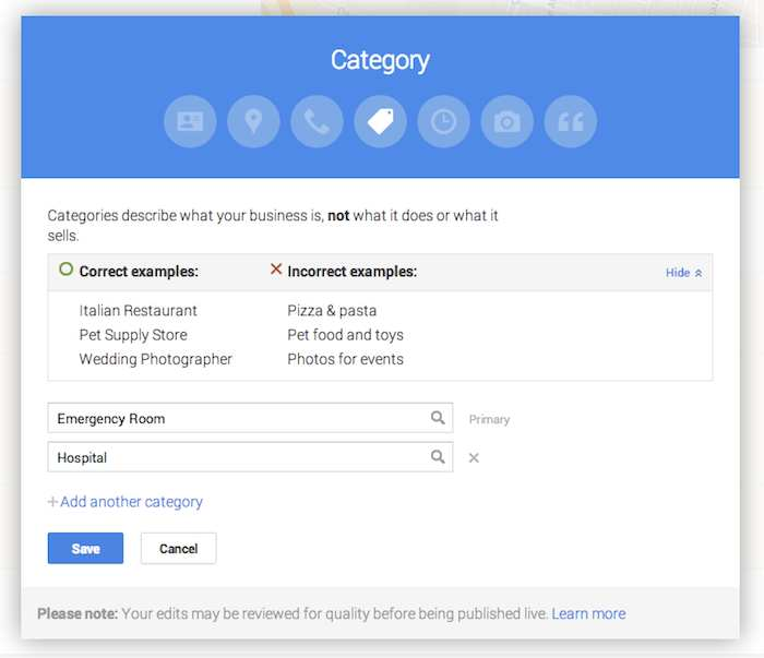 Google Plus Page Editing - Search Influence