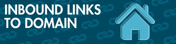 inbound links to domain