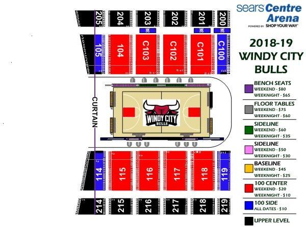 Seating Charts Sears Centre Arena Sears Centre Arena