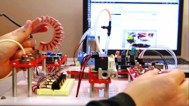 3d Wallpaper Printing Machine Soft Robotics Toolkit Features Everything A Robot Maker