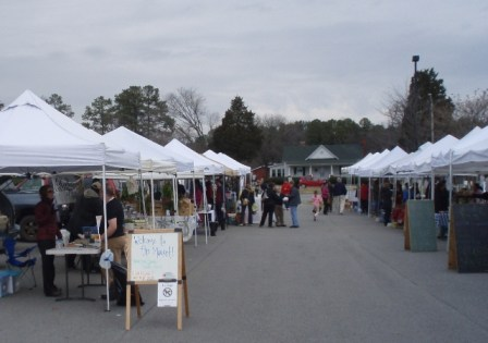 Cary, NC, farmers market, Feb. 4, 2012