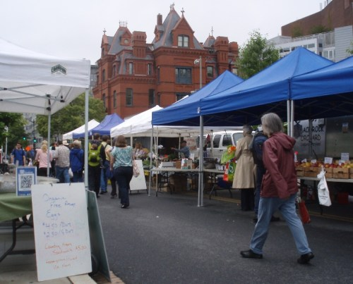 Dupont Circle Farmers Market 05-19-13