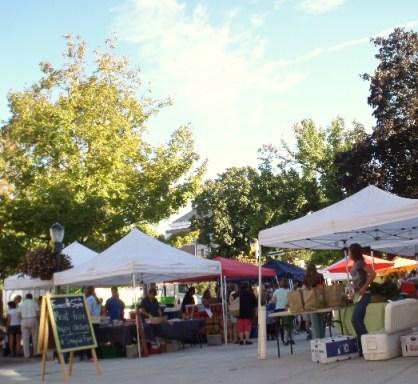 farmers market in Carlisle, Penn.