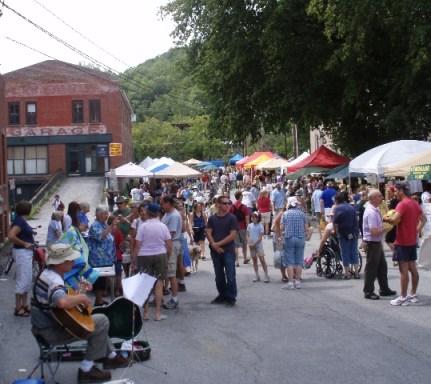 farmers market in Montpelier, Vermont