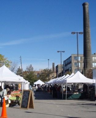 Liberty Village farmers market