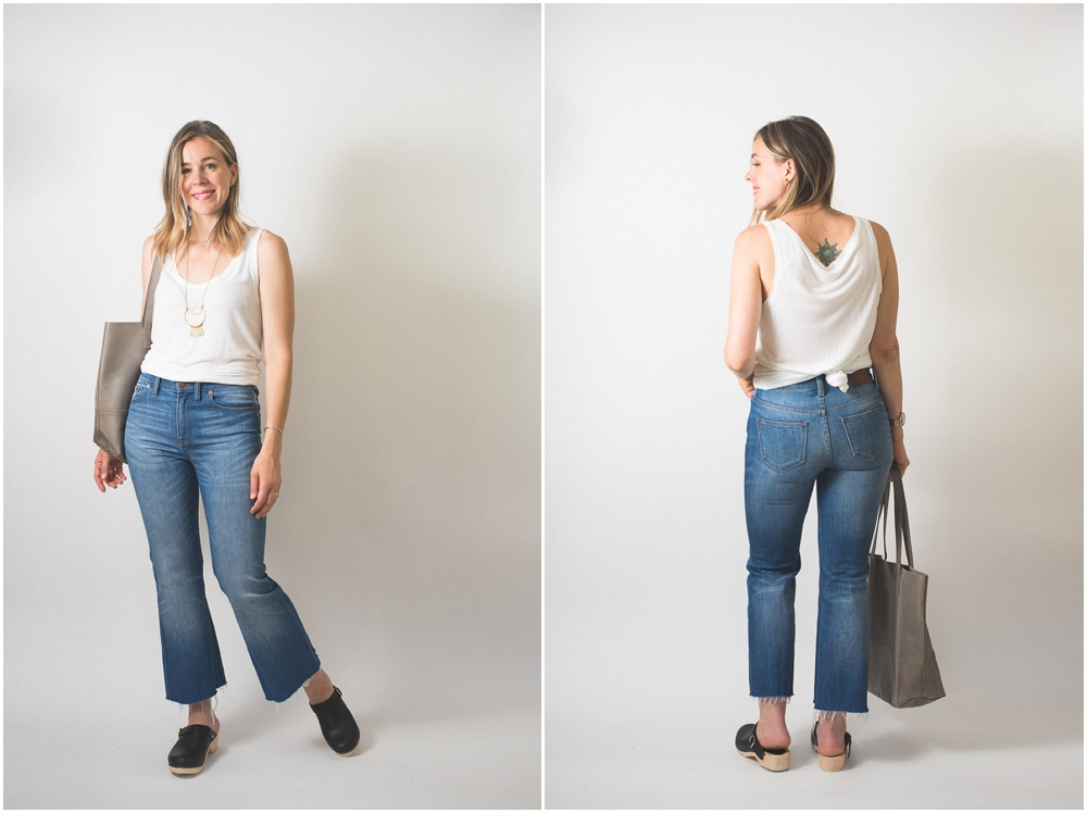 Summer Style: Big Totes and Cropped Flares