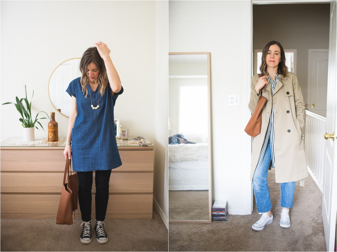 7 Days of Outfits: What I Really Wore
