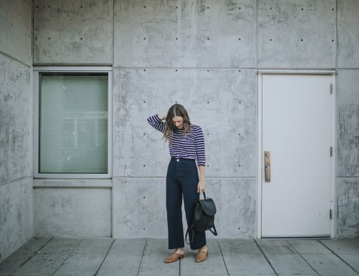 Jesse Kamm Sailor Pants in Midnight