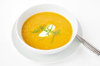 Thai Curry Pumpkin and Carrot Soup
