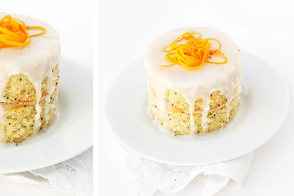 Citrus Cake with Cream Cheese Frosting
