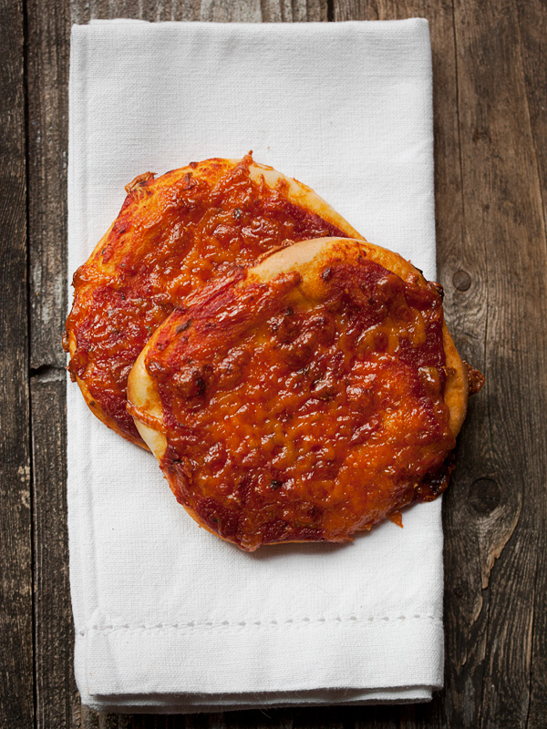 Homemade Pizza Buns