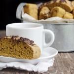Pumpkin Spice Latte Biscotti