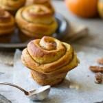 Pumpkin Butter Cinnamon Rolls