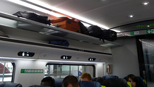 Luggage On European Trains What Do You Do With Your Bags