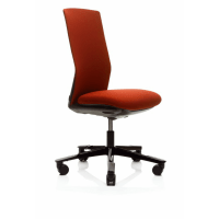 1020f Office chair with floating tilt, no arms with ...
