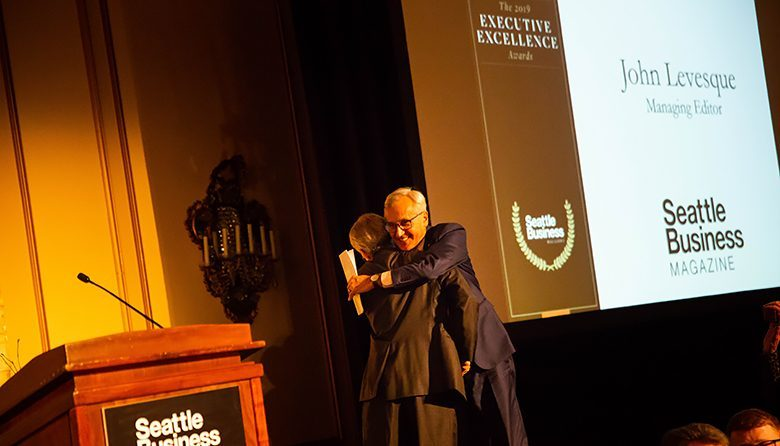 Retiring Seattle Business Managing Editor John Levesque Had the