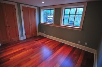 Mahogany Floor Stain