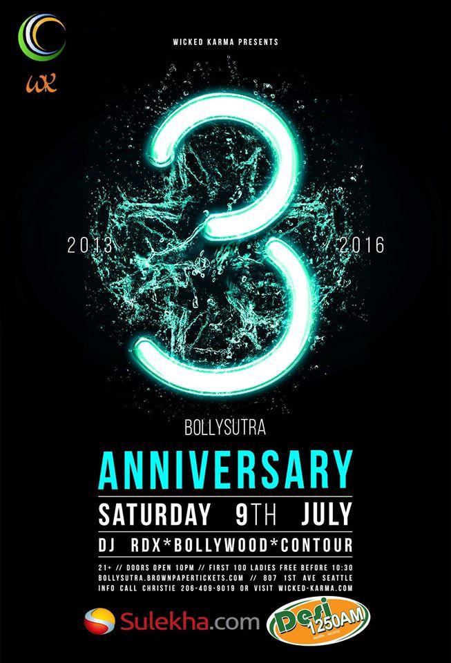 3 year anniversary flyer - Kopeimpulsar