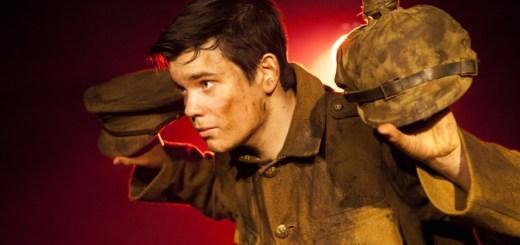 Alex Gwyther as Pvt. James Boyce. Photo: Pamela Raith