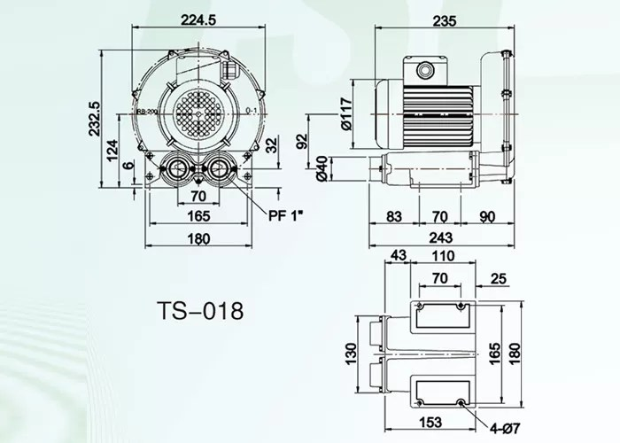 Ring Roots Air Blower Vacuum Pumps For Oxygen Air Convey 06 - 28