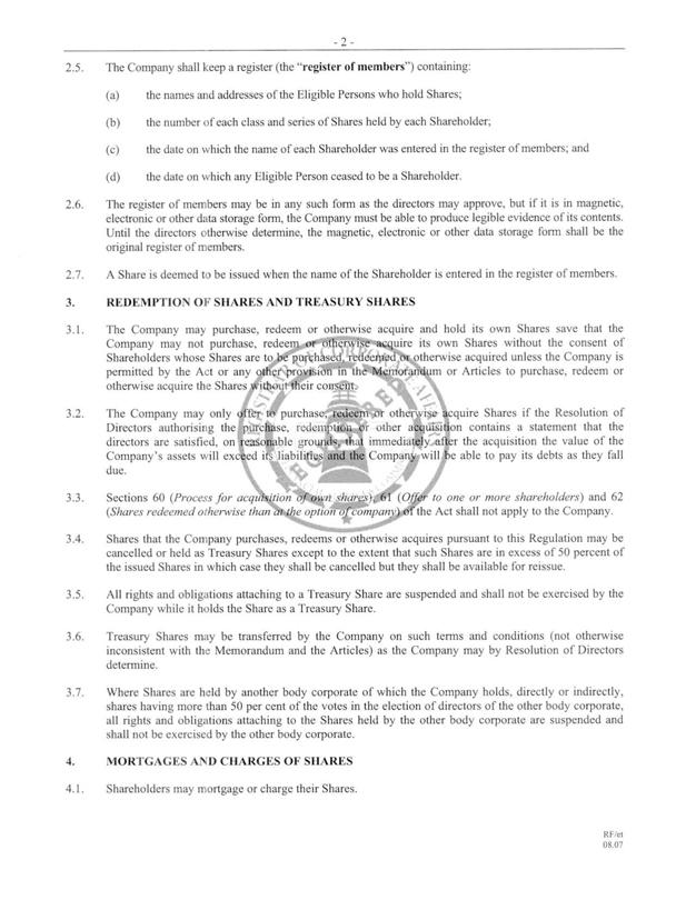 Corporate Resolution Form Exhibit 3 I 3 Corporate Bylawscorporate - corporate resolution form