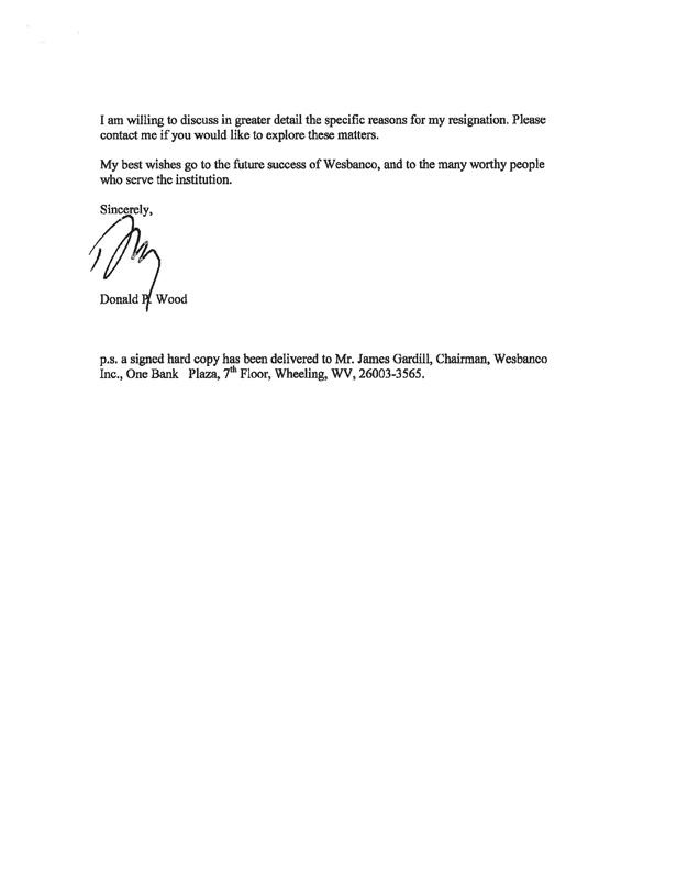 letter of resignation effective immediately - Selol-ink