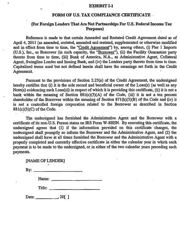 Credit Agreement Sle Credit Agreement Template ~ Credit Agreements