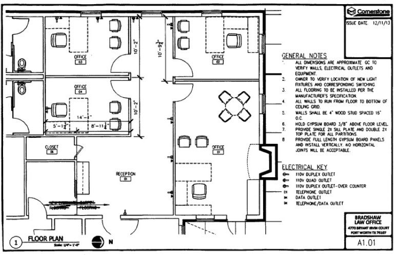 cost of wiring a commercial building