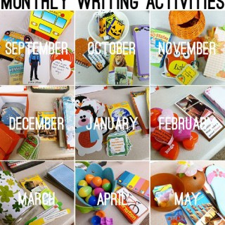 Daily 5 Work on Writing-Monthly Resources