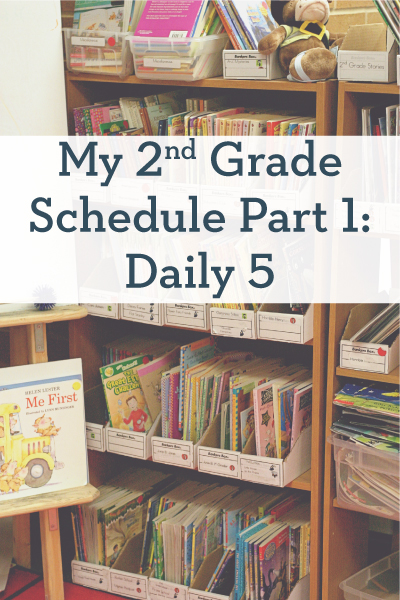 My 2nd Grade Schedule Part 1: Daily 5