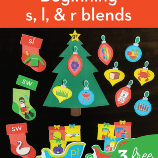 Christmas Consonant Blends