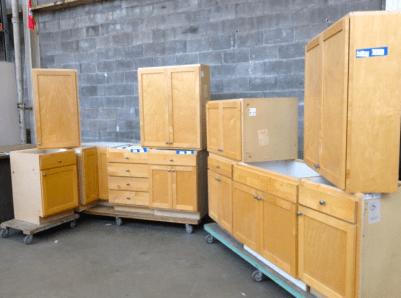 Maple Shaker Cabinet Set #408173