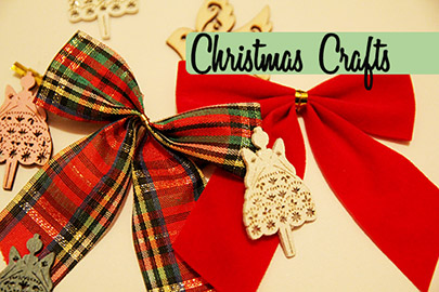 christmas crafts blog header