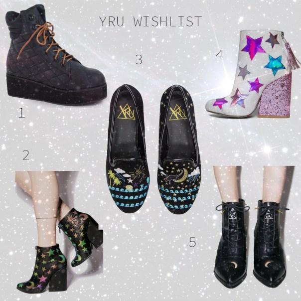 YRU Wishlist