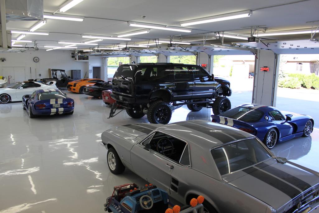 Classic Mustang Car Wallpaper Top 10 Ultimate Dream Car Garages Secret Entourage