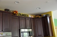 Above Kitchen Cabinet Decor
