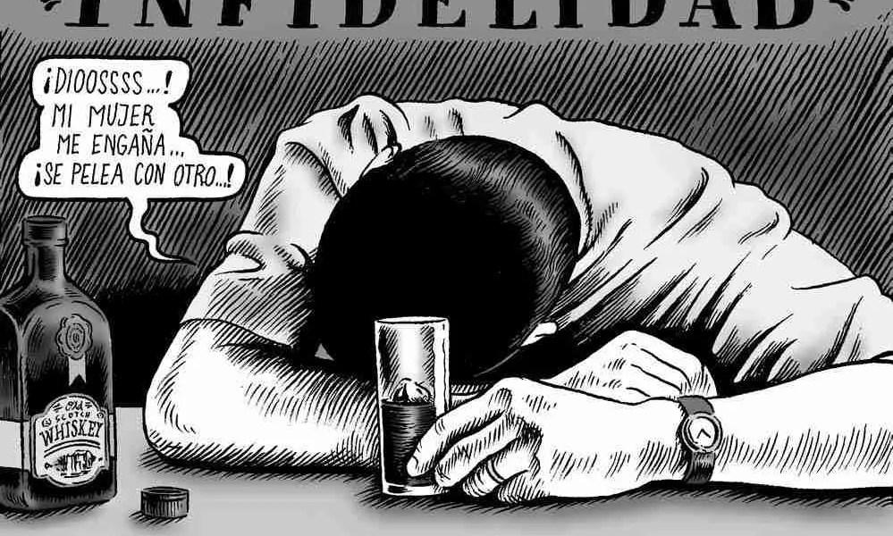 Infidelidad, ilustración por Miguel Brieva