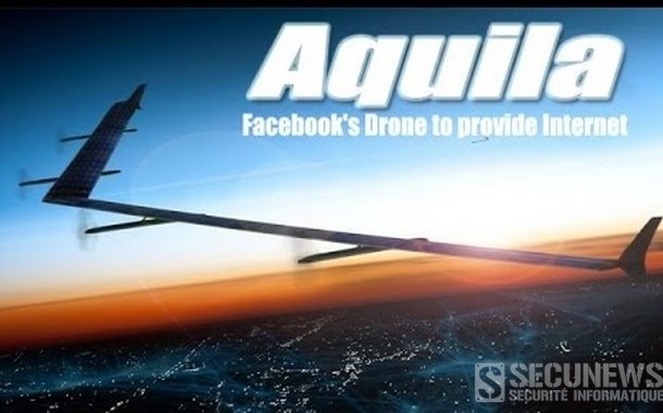 Premier vol réussi pour le drone géant de Facebook