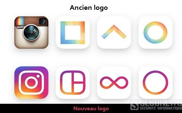 Instagram change son logo et son design