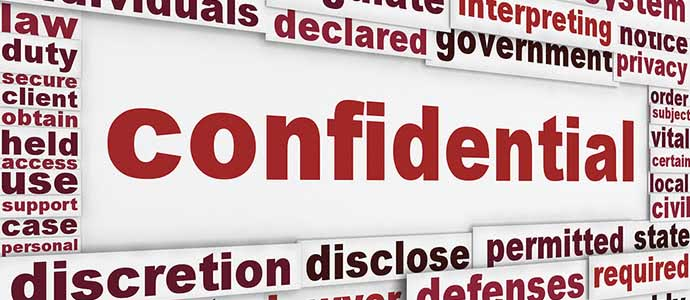 Confidentiality Policy - Data Security Secure Data Recovery Services