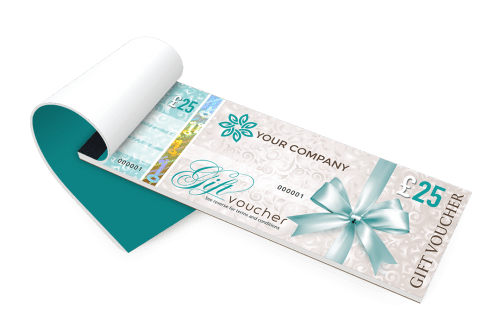personalised gift vouchers templates