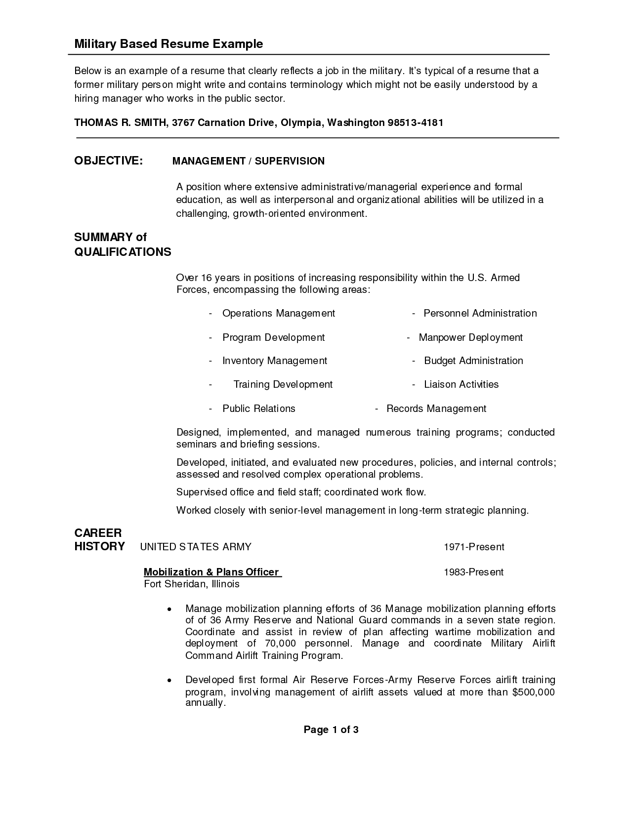 Sample Resume Security Guard | Resume CV Cover Letter