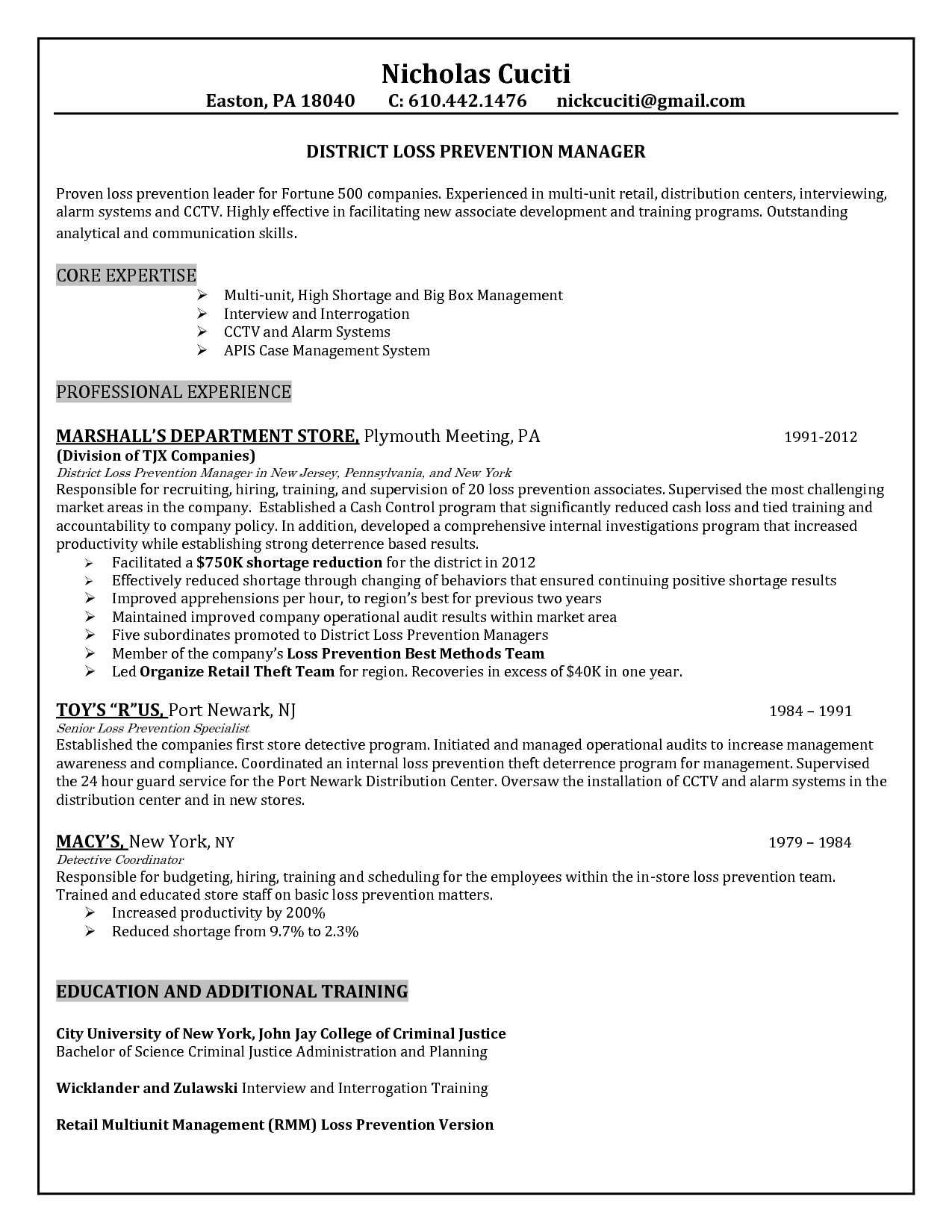 security manager cv tier brianhenry co