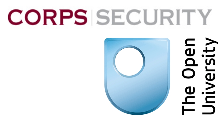 Corps Security and The Open University