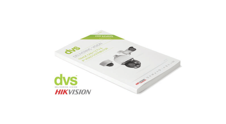 The latest Hikvision only catalogue from DVS is here!