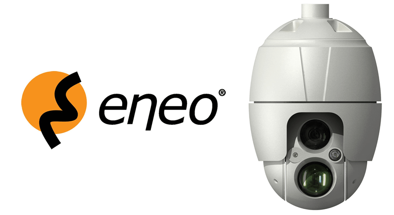 A tough new PTZ from eneo with rugged good-looks