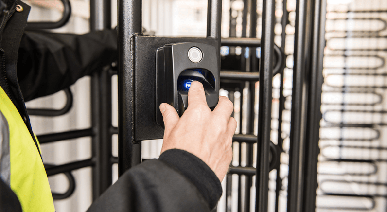 ievo Biometric security and access control for Shetland Construction Site